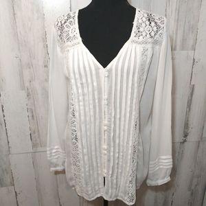 🎄American Eagle 🎄gorgeous blouse L